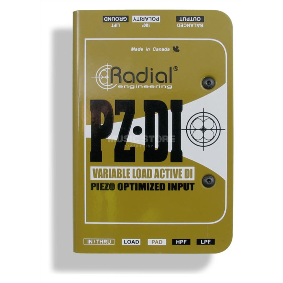 Radial PZ-DI Unique DI active DI-Box f. Piezo Pickups Produktbild