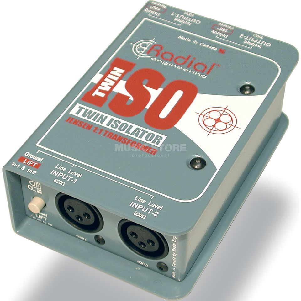 Radial Twin-Iso Two Channel Balanced  Line Isolator   Produktbillede