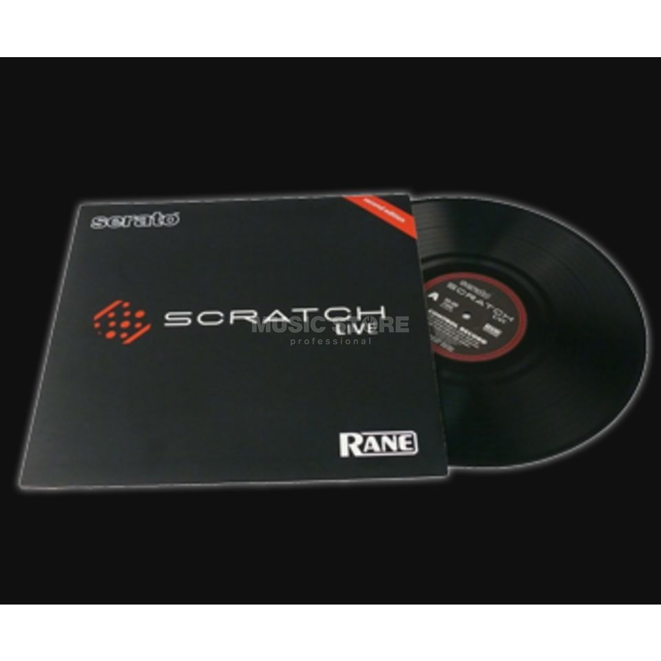 Rane CV 02 Replacement Vinyl for Serato Scratch Produktbillede