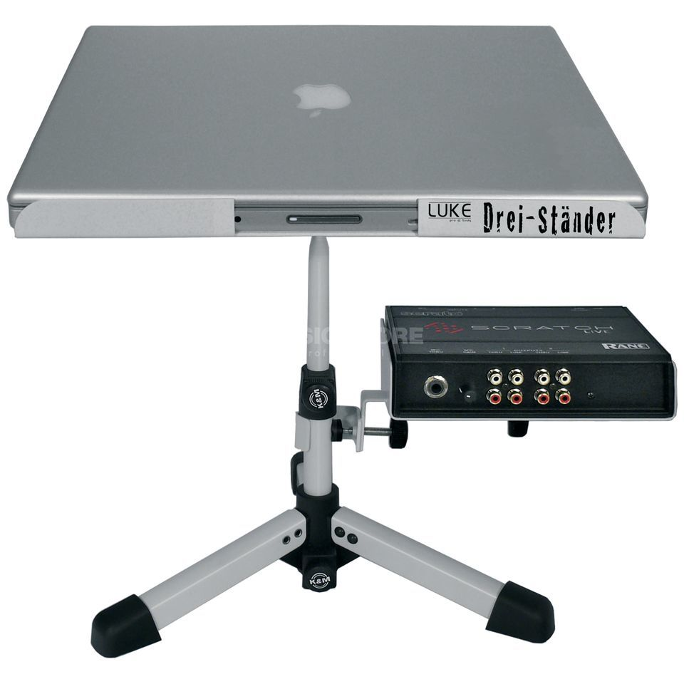 Rane LUKE Laptop Stand White Edition Produktbillede