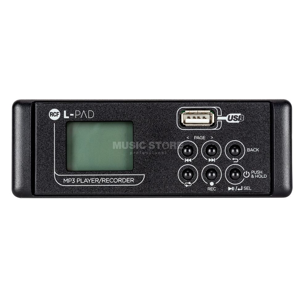 RCF L-PAD MP3 Player/Recorder Card MKII Image du produit