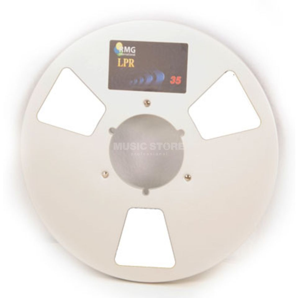 "Recording The Masters NAB-Empty Reel 1/4"", 27cm Precision Reel - silver Produktbillede"
