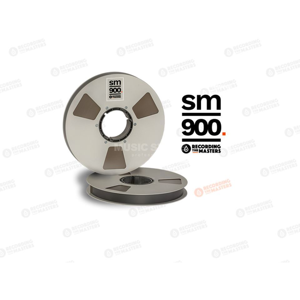 "Recording The Masters SM900 1""  762m Analog Band NAB-Spule /Metal Reel 27cm Produktbillede"