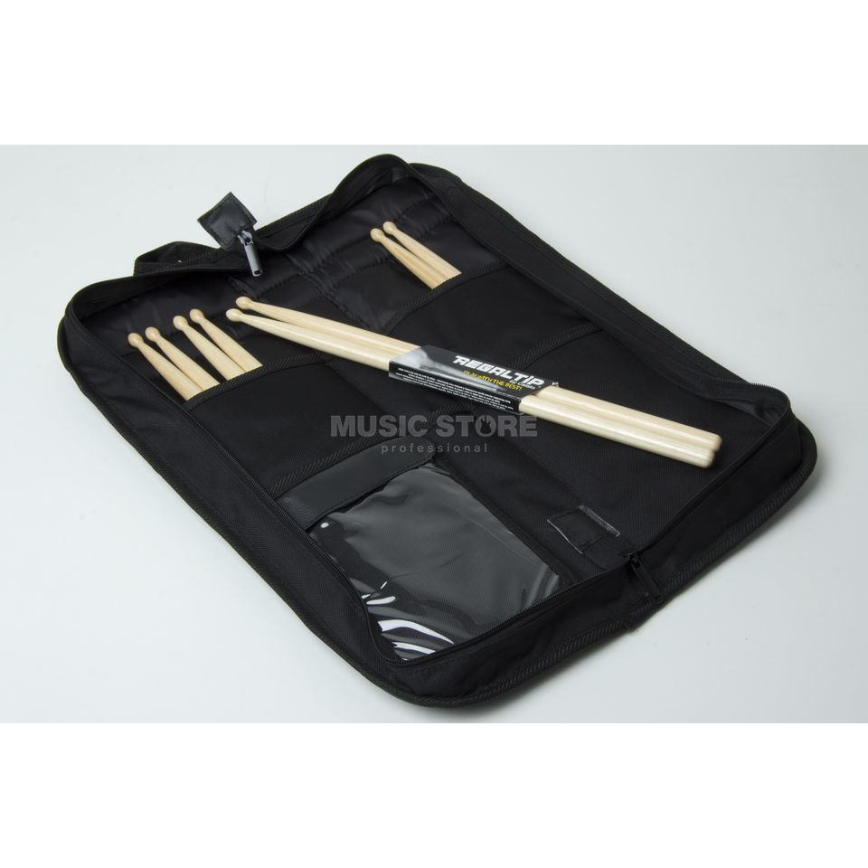 Regal Tip 7A Sticks Pack, Hickory, Wood Tip, incl.  Bag Produktbillede