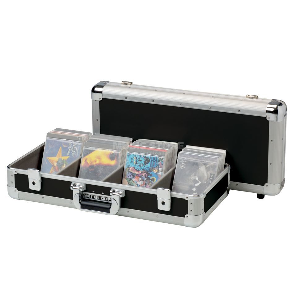 Reloop Club Series 100er CD Case black Produktbild