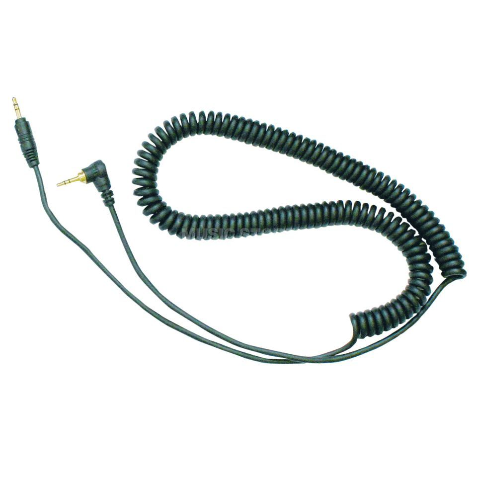 Reloop Replacement Cable for RHP-10/RH-3500 Spiral black Product Image
