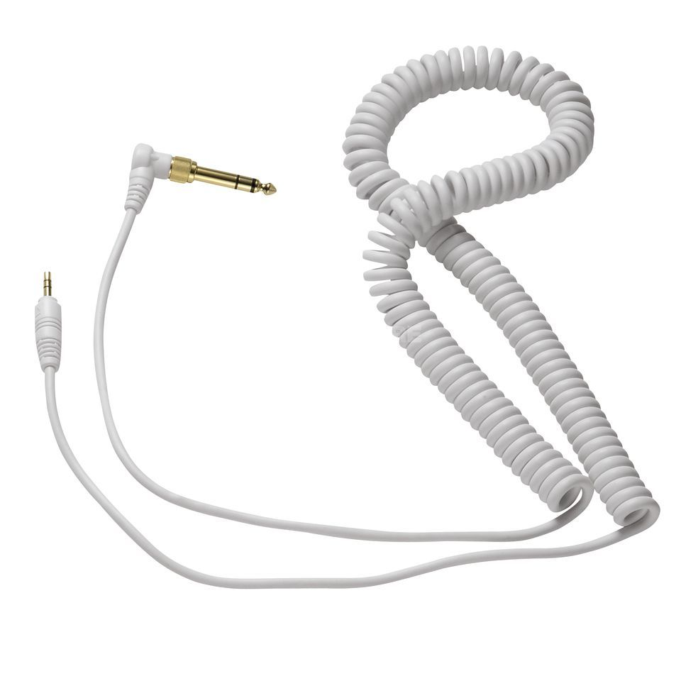 Reloop Replacement Cable for RHP-10/RH-3500 Spiral white Product Image