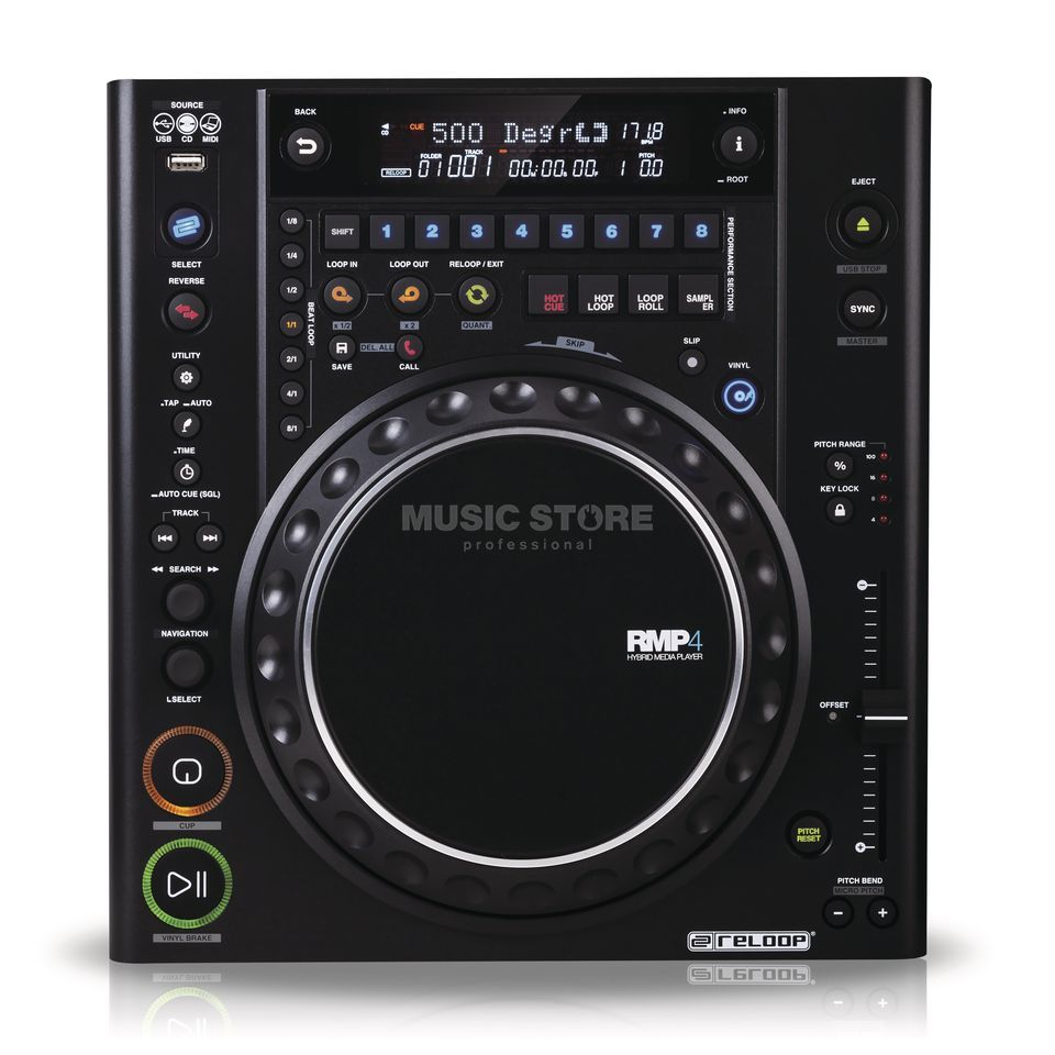 Reloop RMP-4 Hybrid Media Player Produktbild