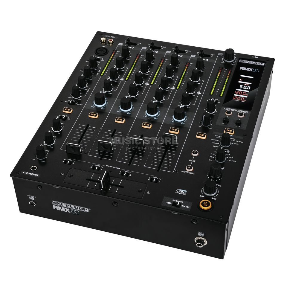 Reloop RMX-60 Digital Performance Club Mixer Product Image