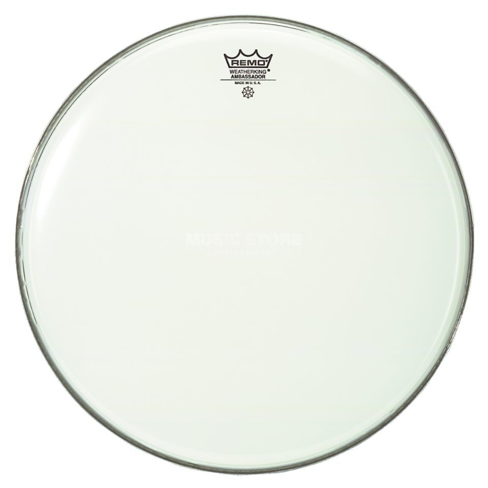 "Remo Ambassador Smooth White 10"", Tom Batter Immagine prodotto"