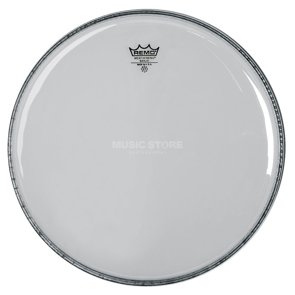 "Remo Banjo Fell 11"" clear, Medium Collar, BJ-1100-M3 Produktbillede"