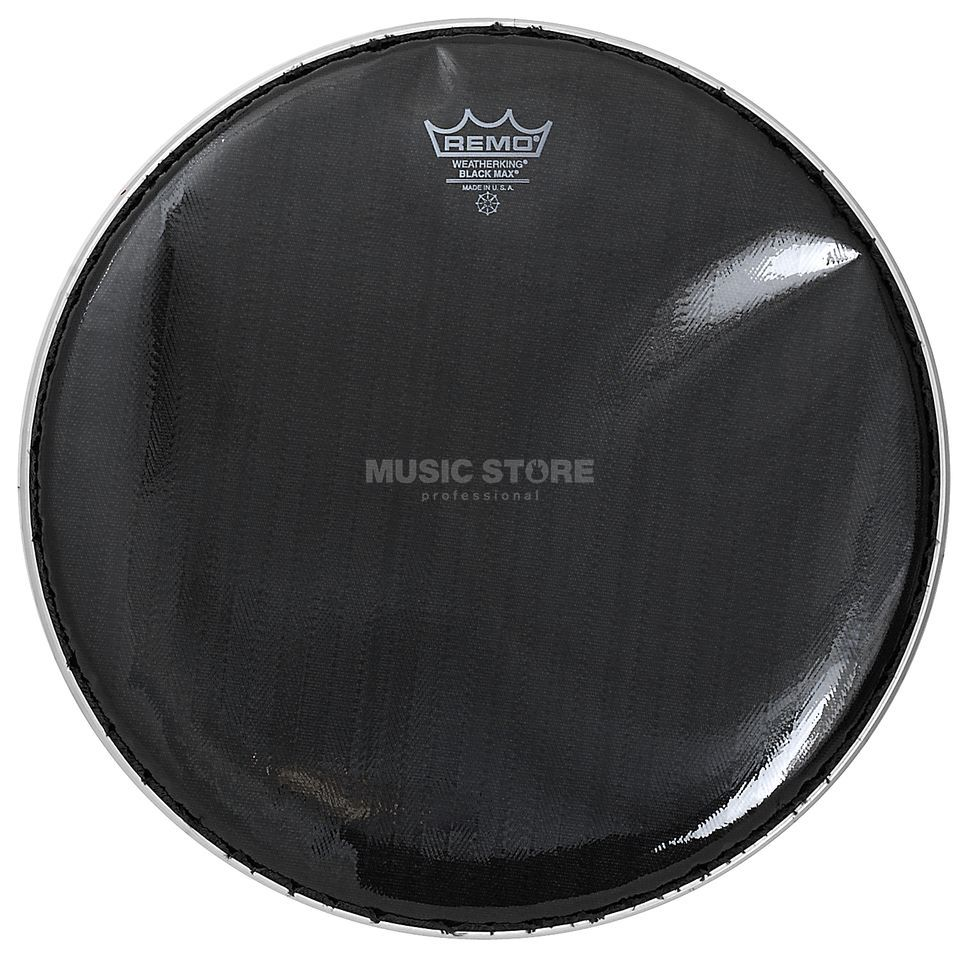 "Remo Black Max Ebony, 14"", Marching Snare Batter Produktbillede"