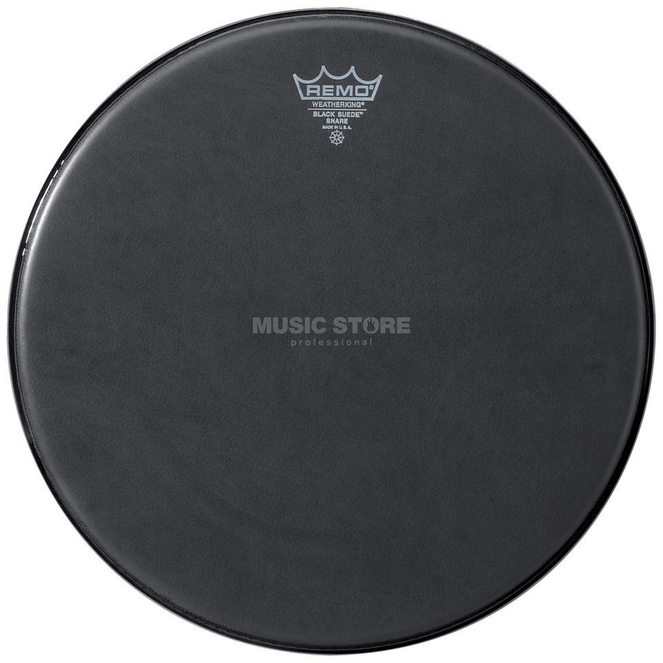 "Remo Black Suede Snare Side 14"", Snare Reso Product Image"