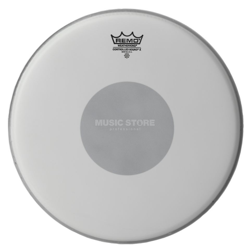 "Remo Controlled Sound X 14"", zwart Dot, Snaroodrum Batter Productafbeelding"