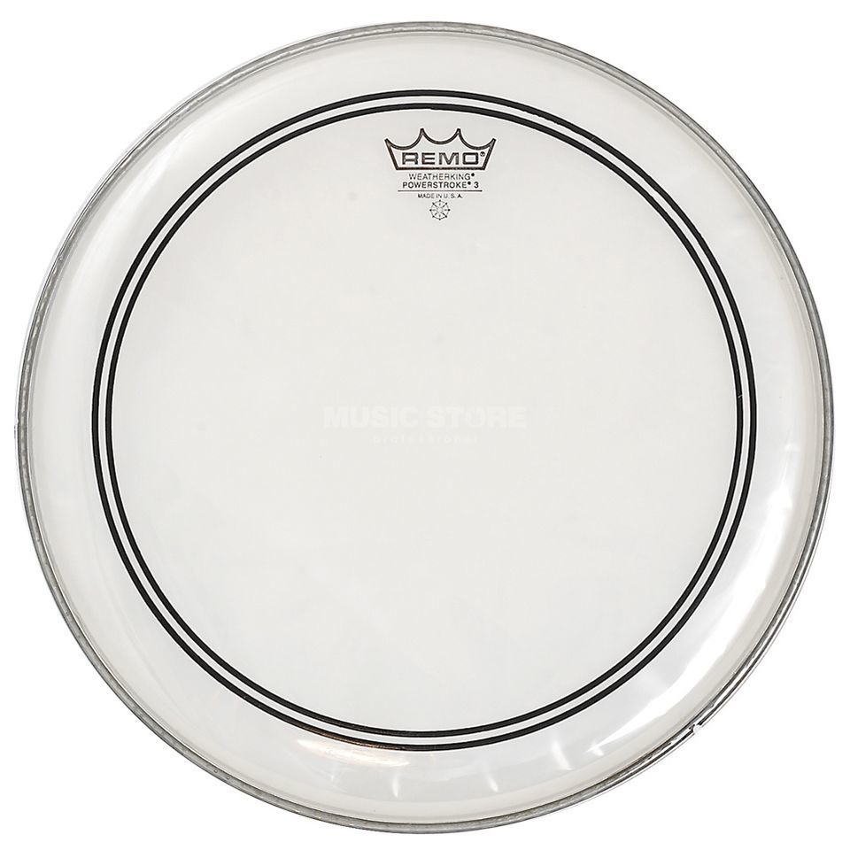 "Remo CS Powerstroke 3 Clear 14"", Dot, Tom Batter/Reso Productafbeelding"