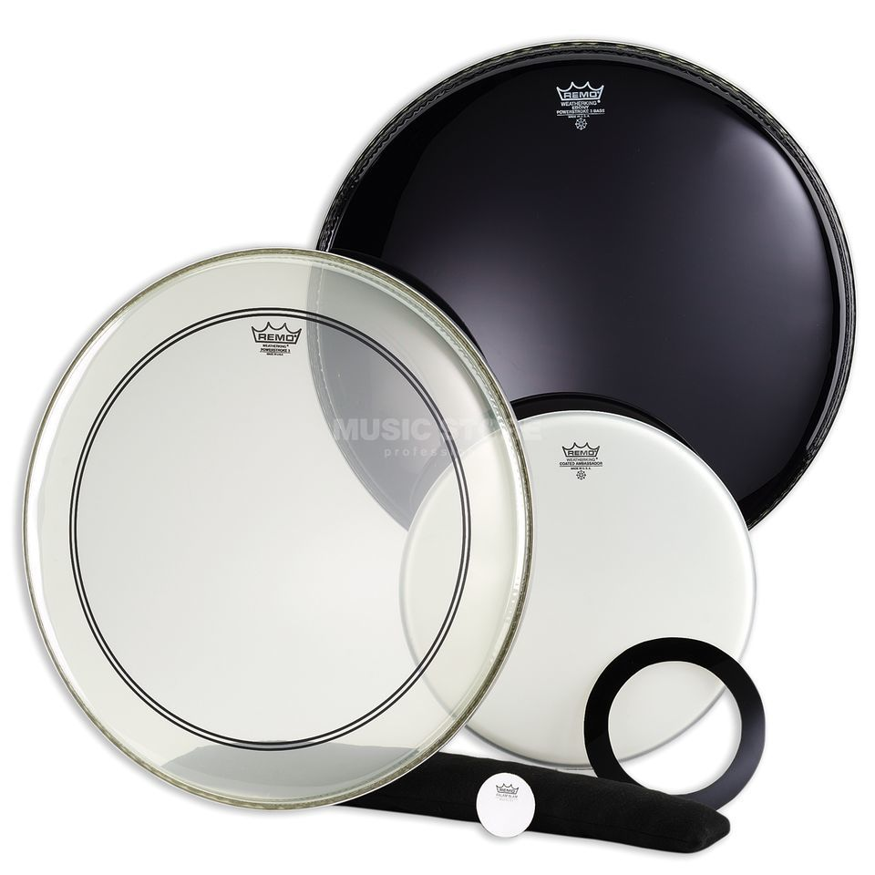 Remo Drum Head Pack Powerstroke 3, Pro Pack Produktbillede