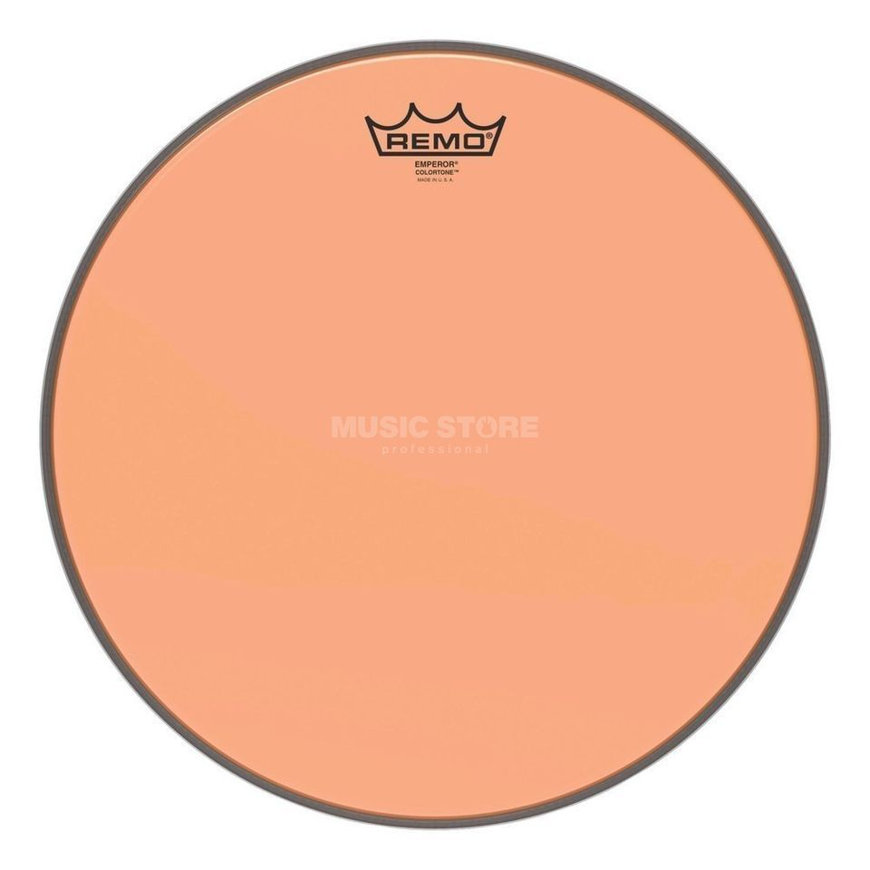 "Remo Emperor Colortone Orange 13"" Product Image"