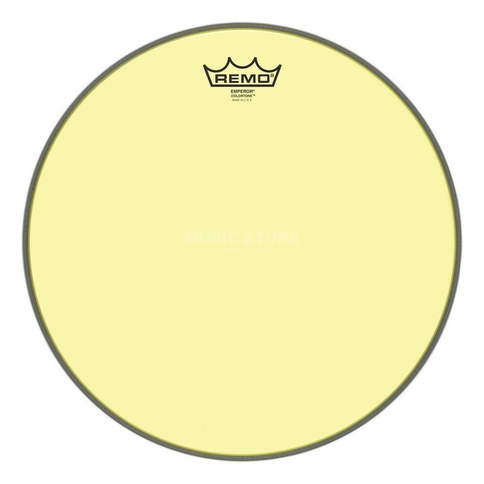 "Remo Emperor Colortone Yellow 12"" Product Image"