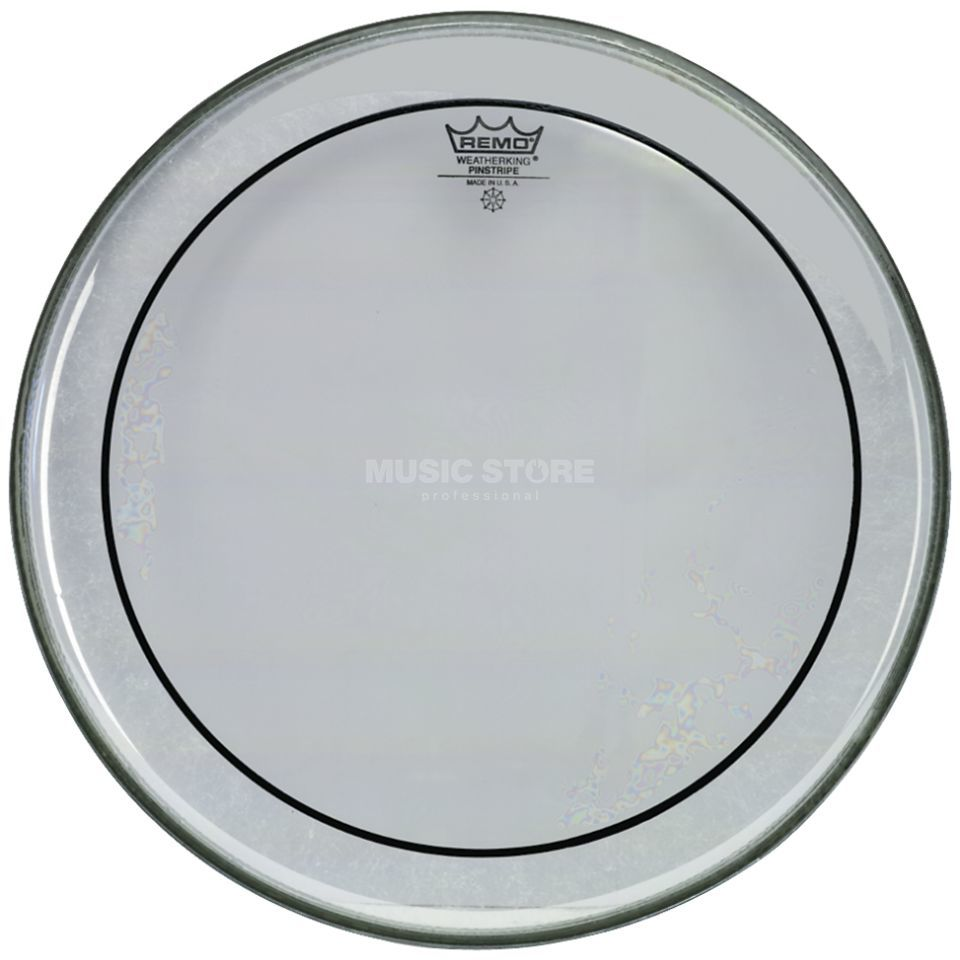 "Remo Pinstripe Clear 24"", basDrum Batter Productafbeelding"