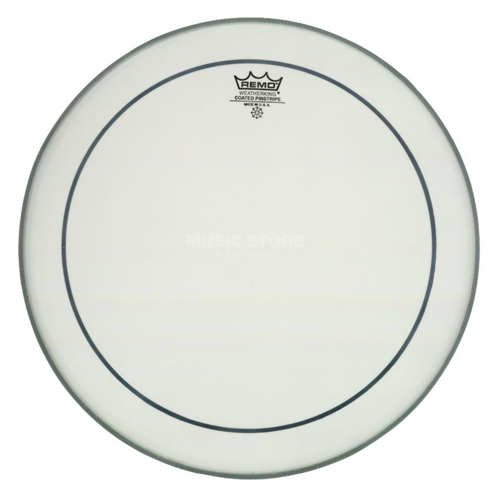 "Remo Pinstripe Coated 12"", Tom Batter Product Image"