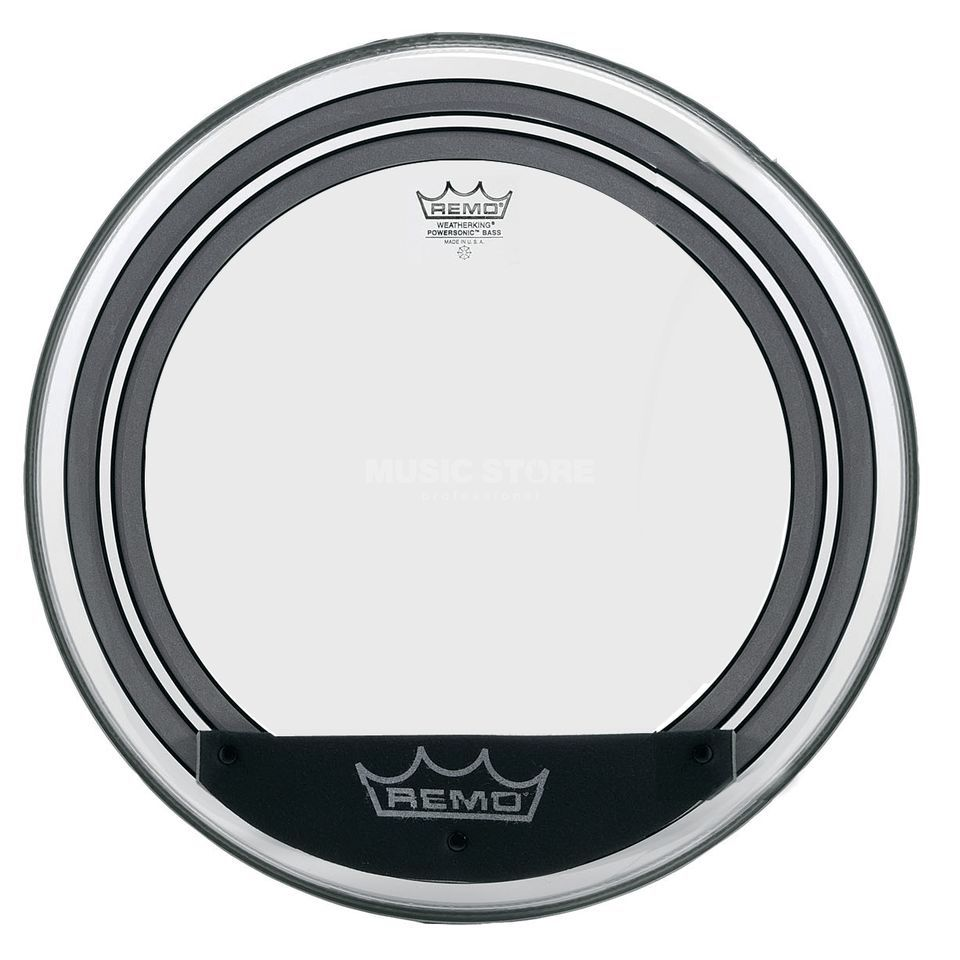 "Remo Powersonic 18"", clear, BassDrum Batter Head Product Image"