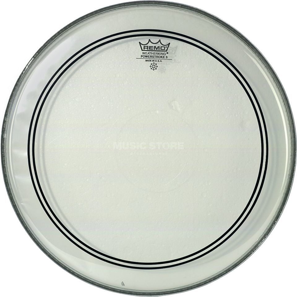 "Remo Powerstroke 3 Clear 15"", Tom Batter/Reso Produktbillede"