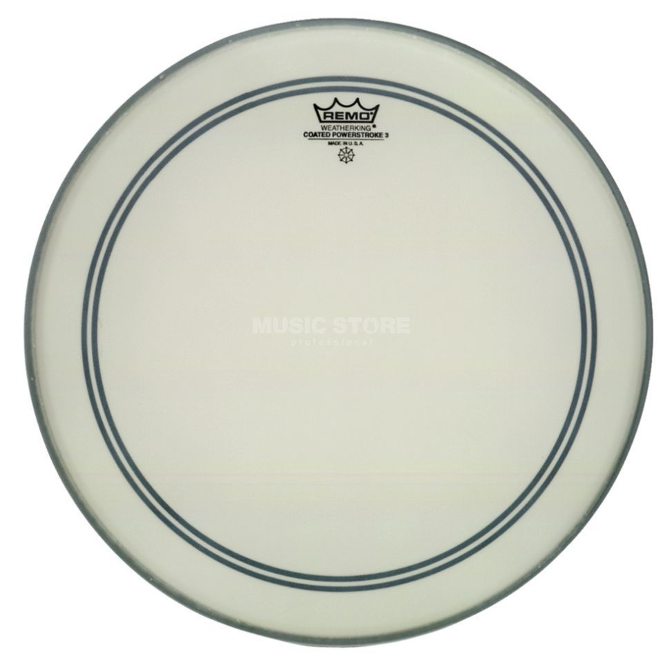 "Remo Powerstroke 3 Coated 8"", Tom Batter/Reso Produktbild"
