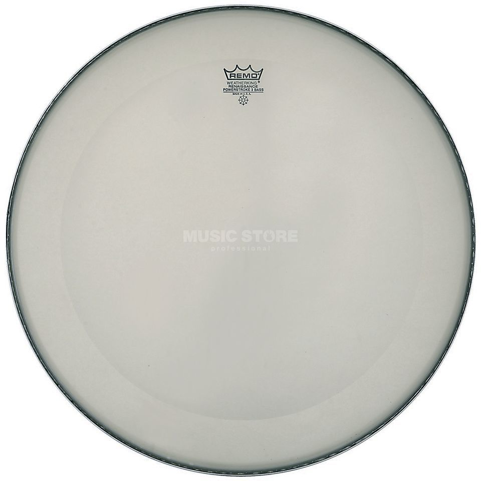 "Remo Powerstroke 3 Renaissance 18"", BassDrum Batter/Reso Product Image"
