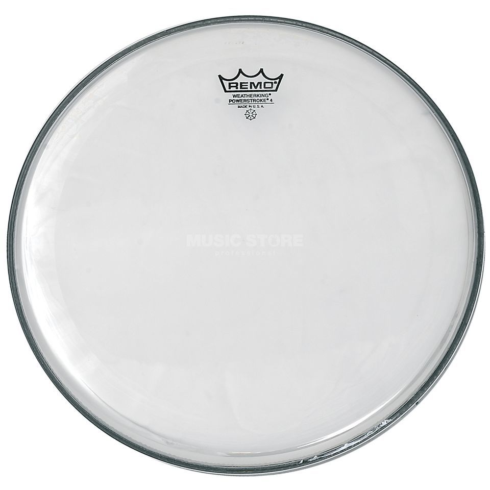 "Remo Powerstroke 4 Clear 18"", Tom Batter Produktbillede"