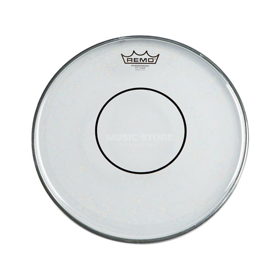 "Remo Powerstroke 77 Clear 14"", Dot, Tom + Snare Batter Product Image"