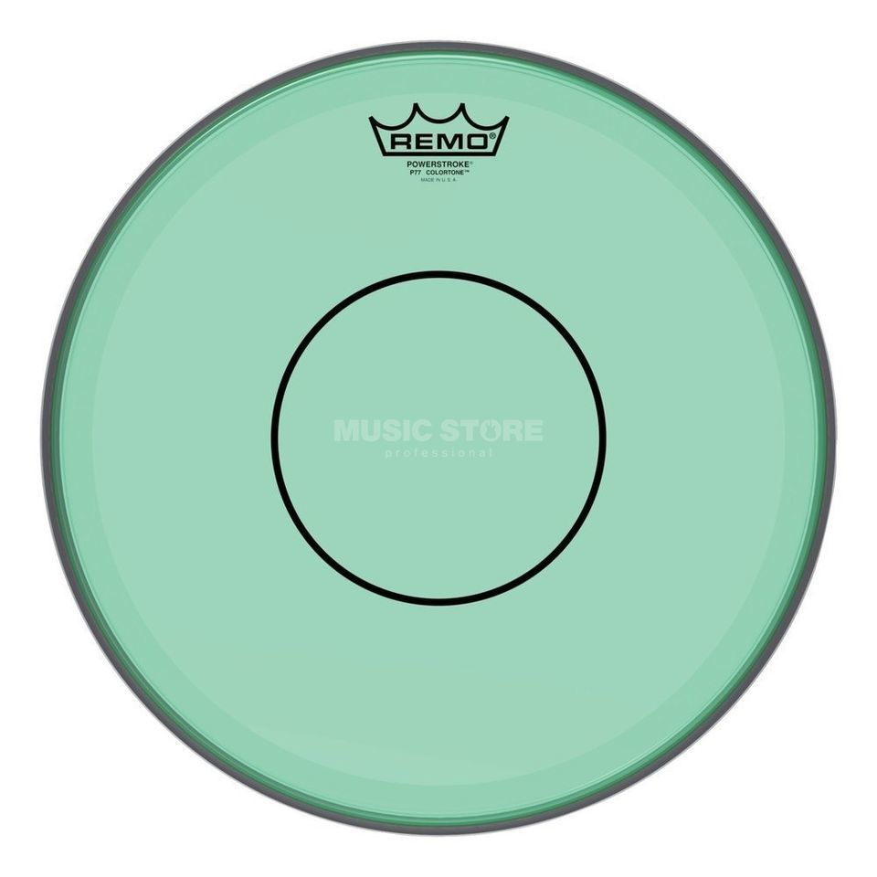 "Remo Powerstroke 77 Colortone Green 14"" Product Image"