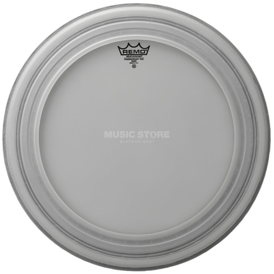 "Remo Powerstroke Pro, coated, 24"", BassDrum Batter Product Image"