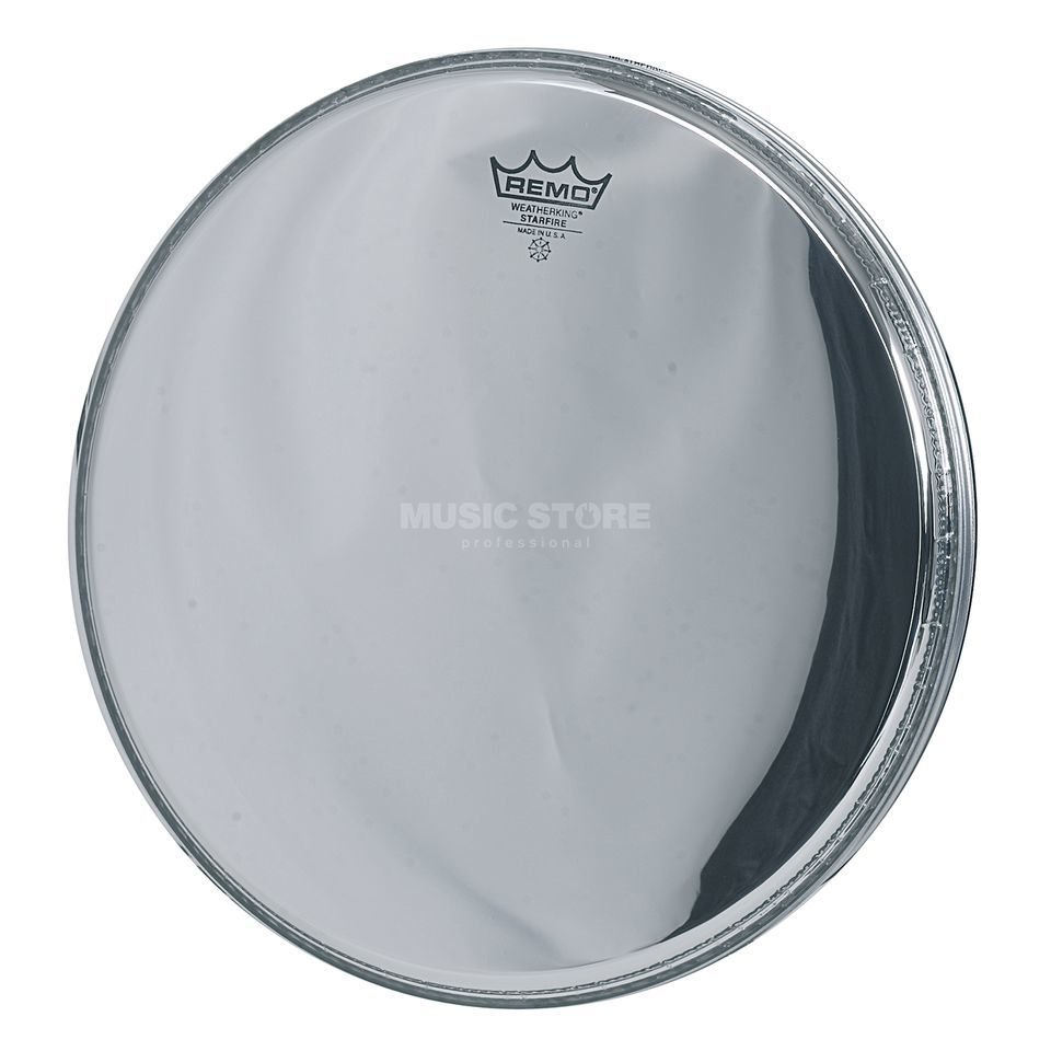 "Remo Starfire 12"", Chrome, Tom/Snare Batter/Reso Productafbeelding"