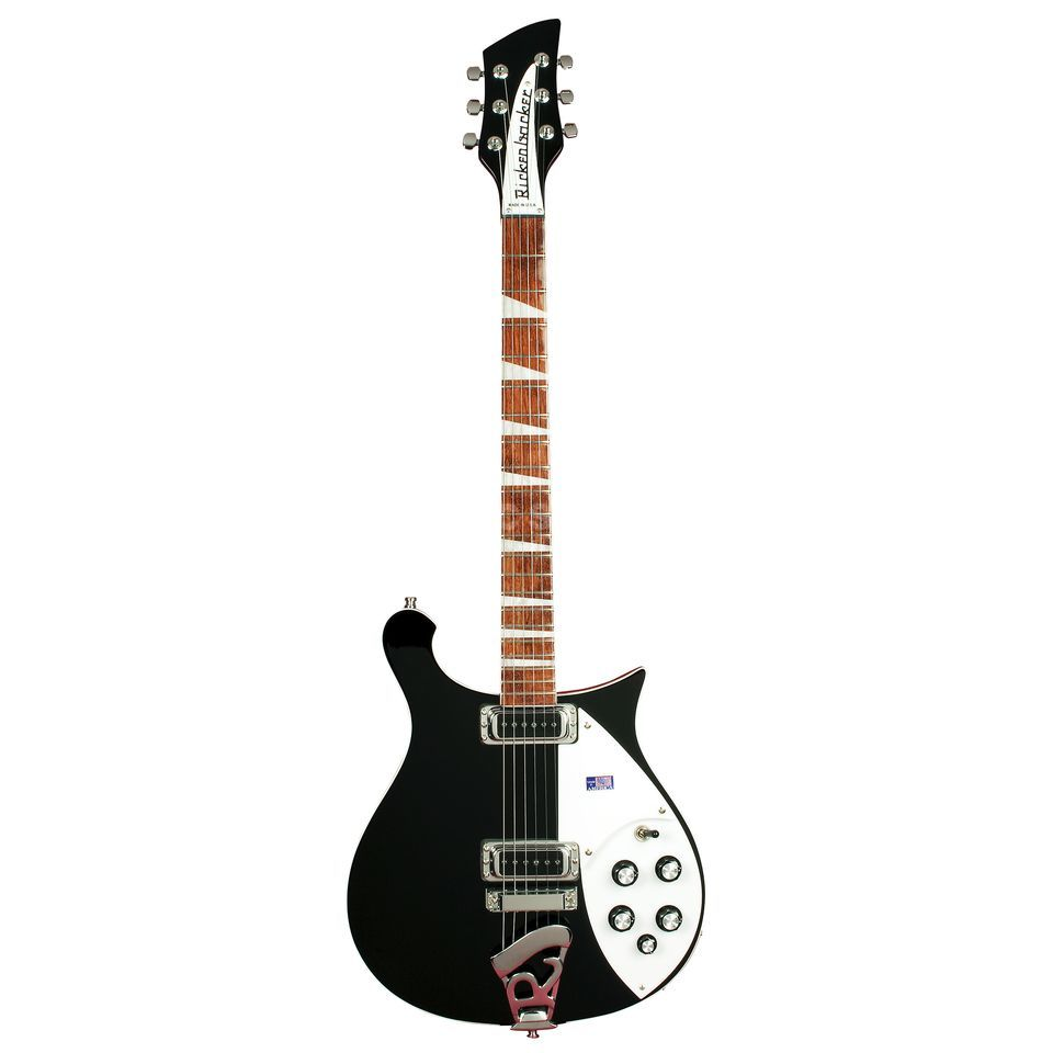 Rickenbacker 620 Electric Guitar, Jetglo    Изображение товара