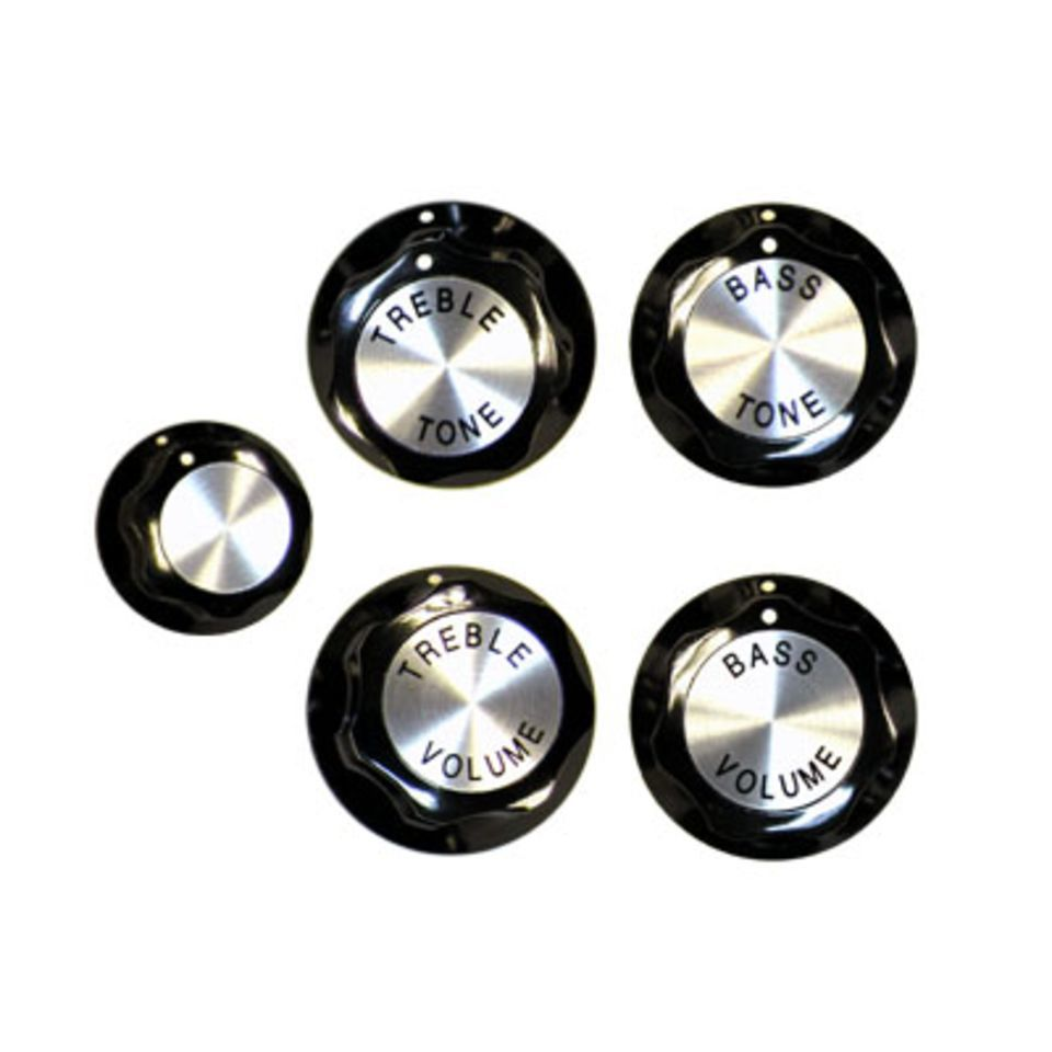 Rickenbacker Knobs Std Guitar Set of 5 Produktbild