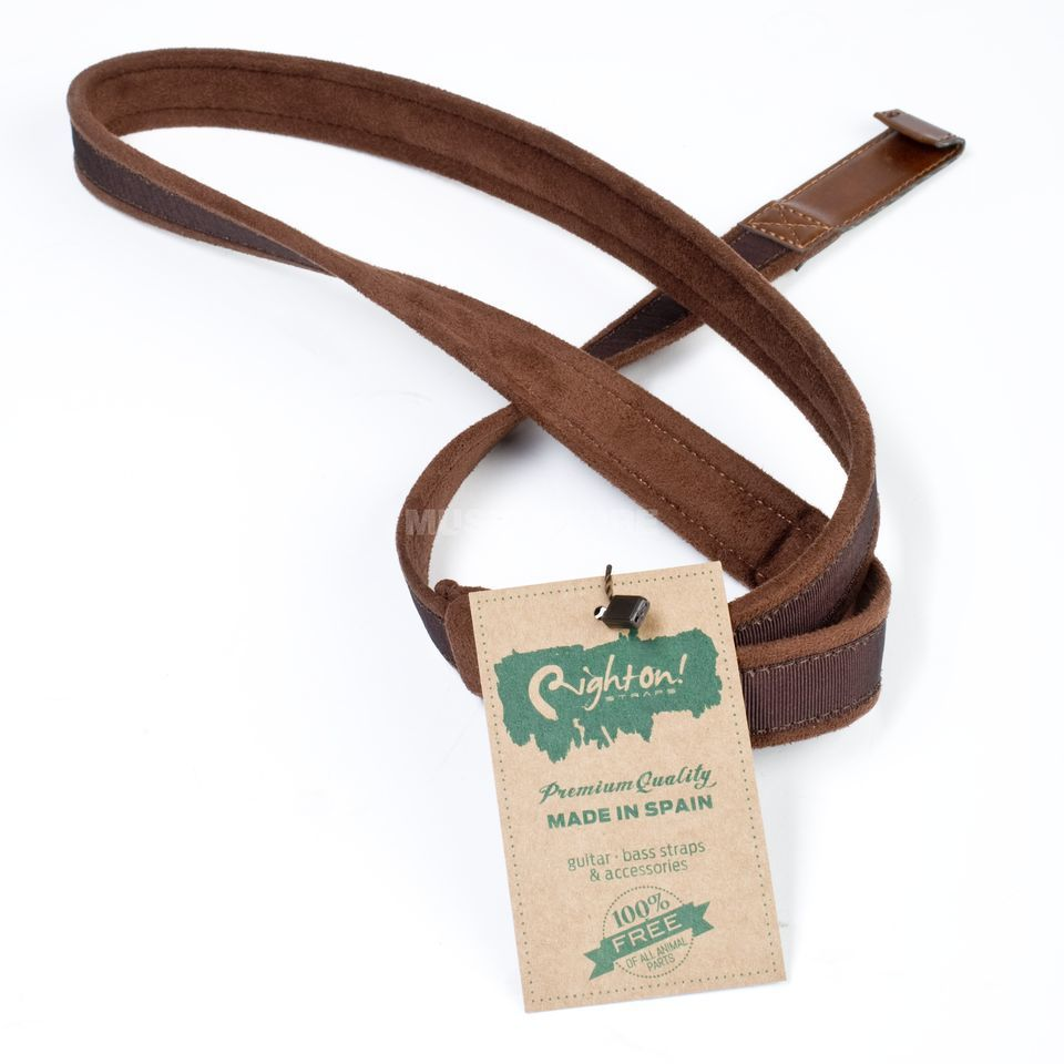 RightOn! Straps Nylon Hook Brown Produktbild
