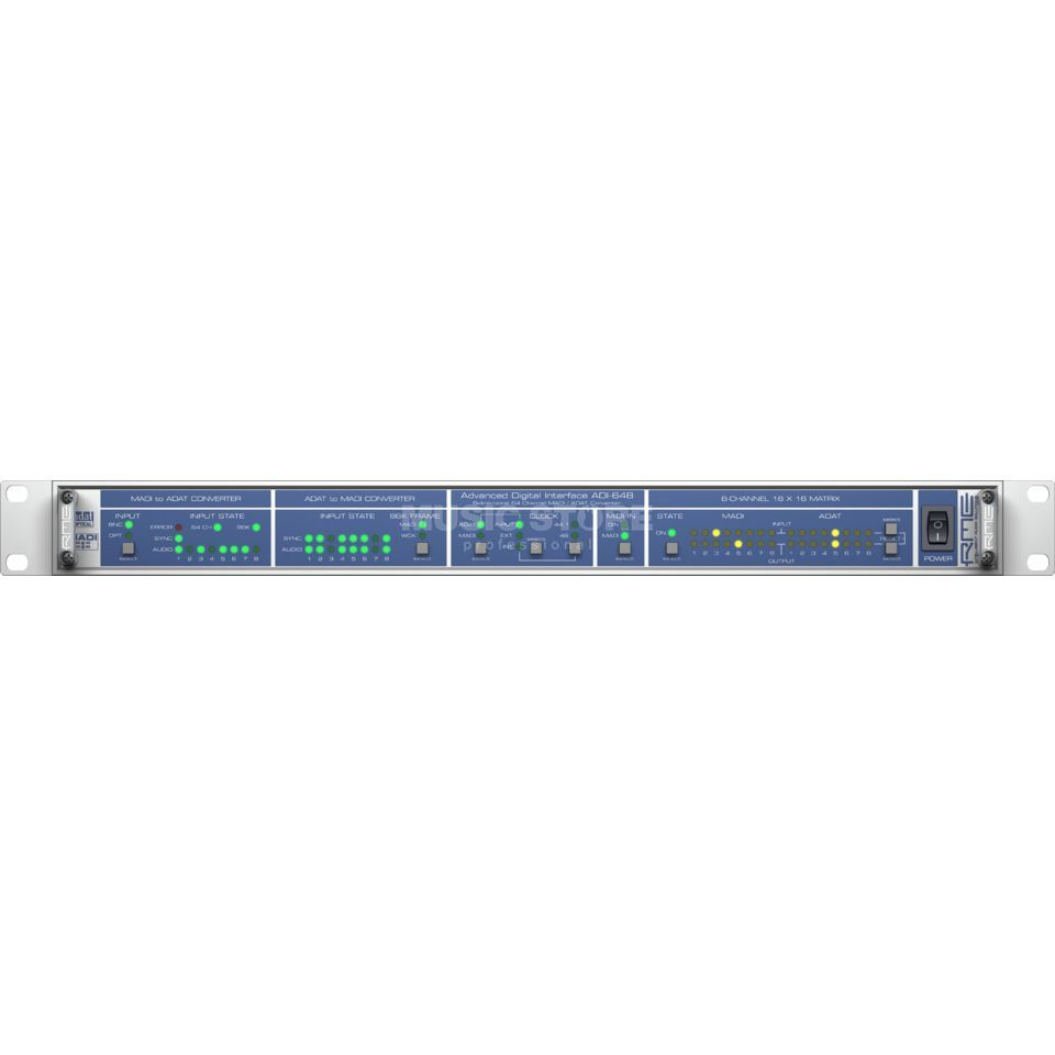 RME ADI-648 Multichannel Audio Digital Interface Produktbillede