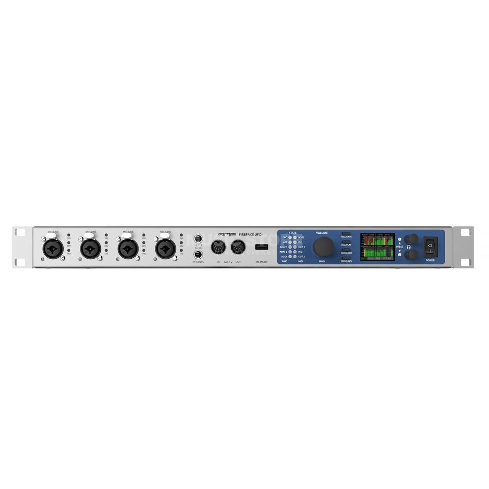 RME Fireface UFX+ USB Audio-Interface Produktbild