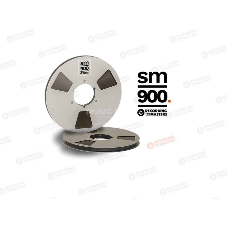 "RMG International SM900 1/2"" 762m Analog Band NAB-Spule /Metal Reel 27cm Produktbillede"
