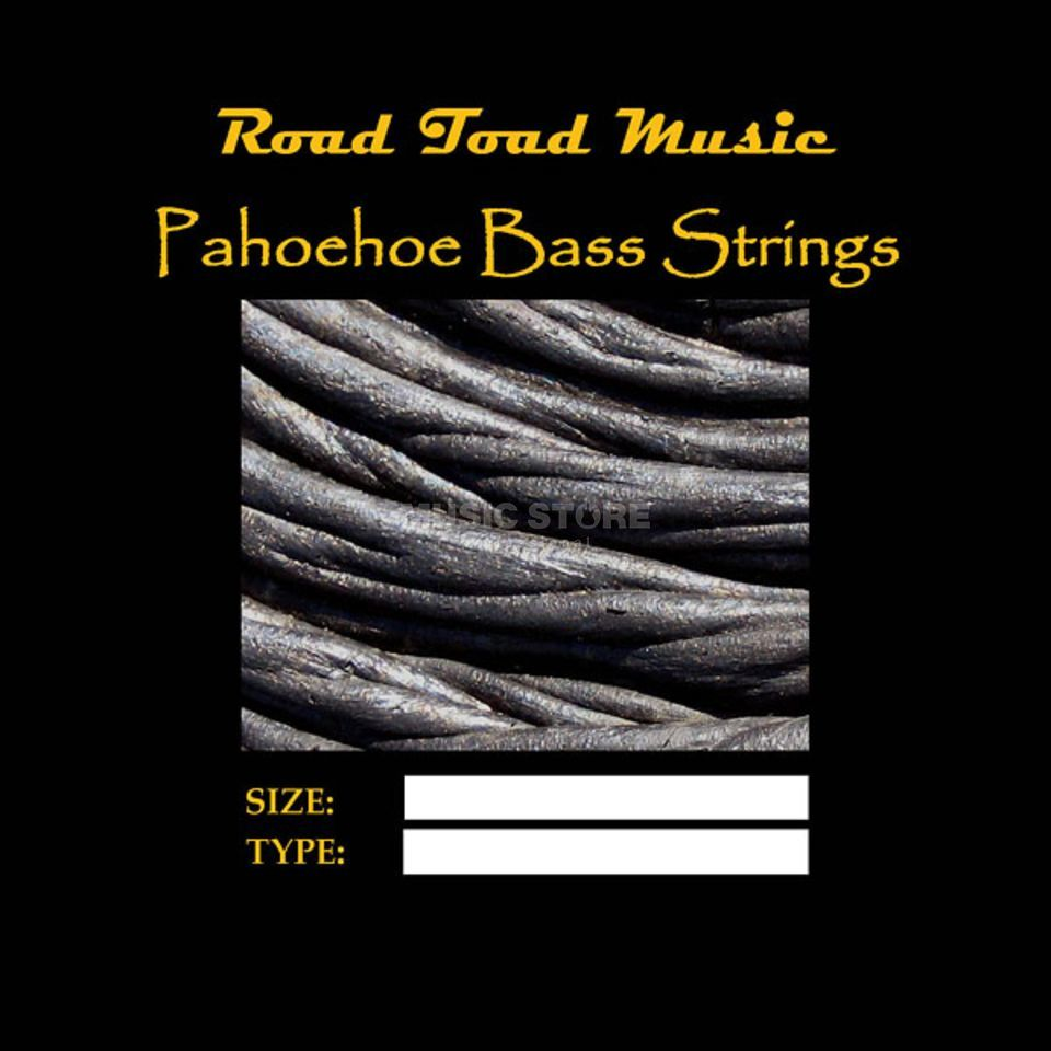 Road Toad Music U-Bass Pahoehoe Black 4-String  Product Image