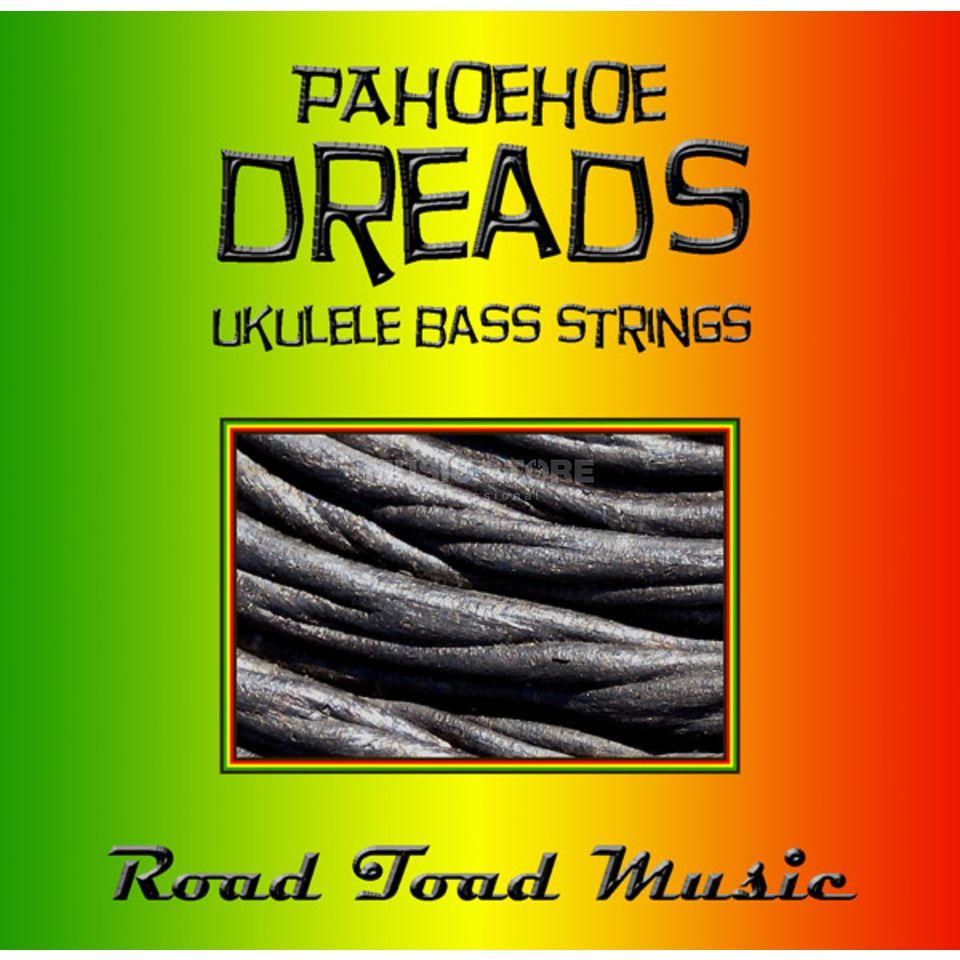 Road Toad Music U-Bass Pahoehoe Dread 4-String Black,Green,Yellow,Red Zdjęcie produktu