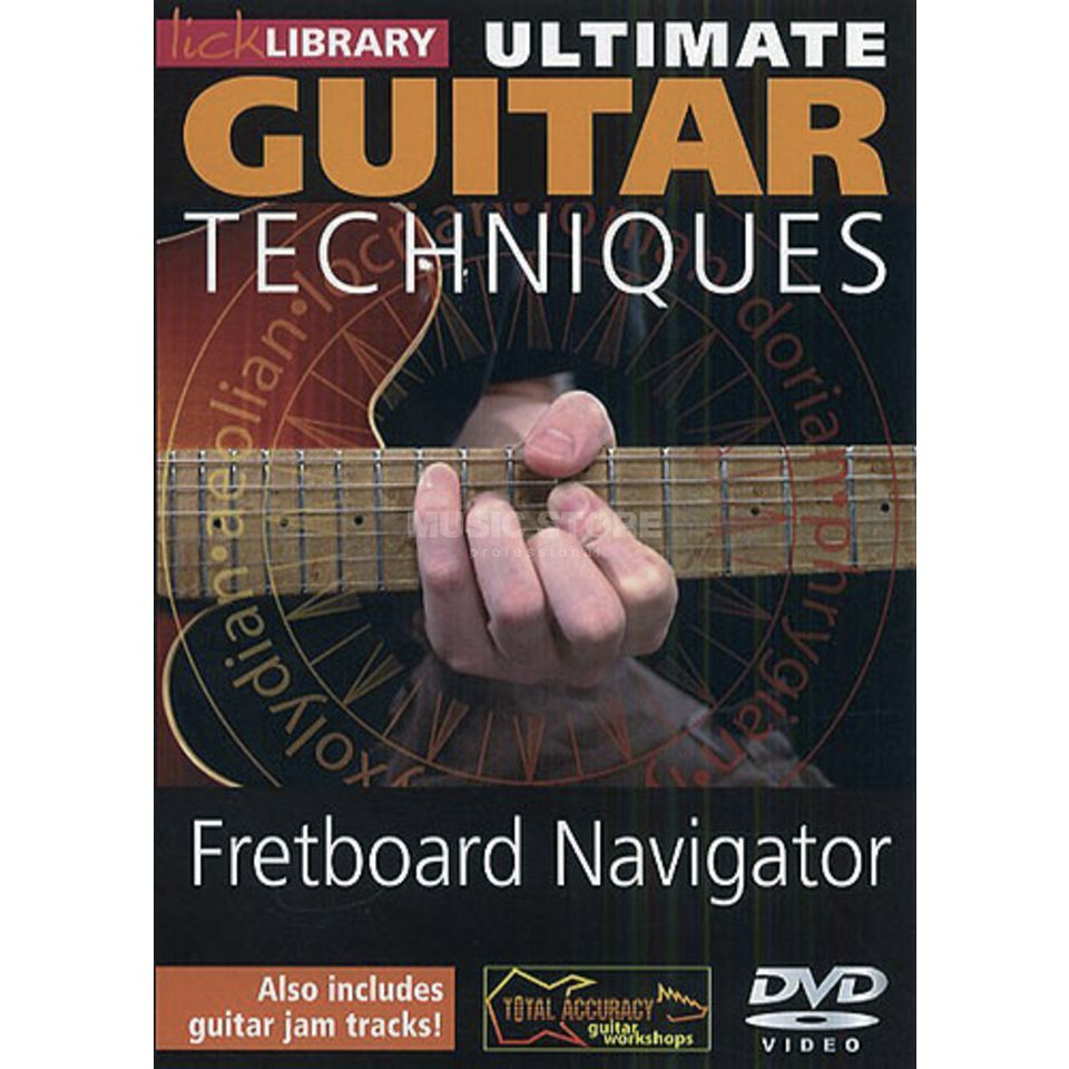 Roadrock International Fretboard Navigator DVD Ultimate Guitar lick library Produktbillede