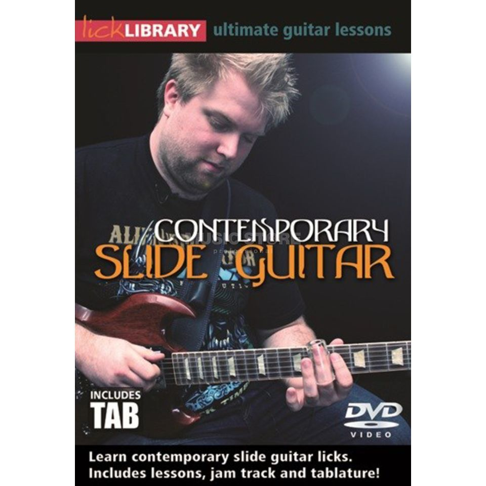 Roadrock International Lick Library: Contemporary Slide Guitar DVD Produktbild