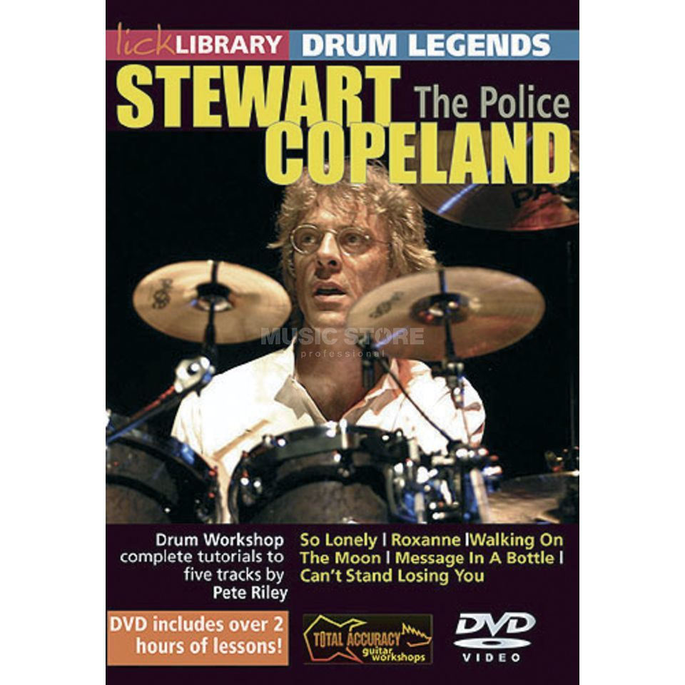 Roadrock International Lick Library: Drum Legends - Stewart Copeland DVD Produktbild
