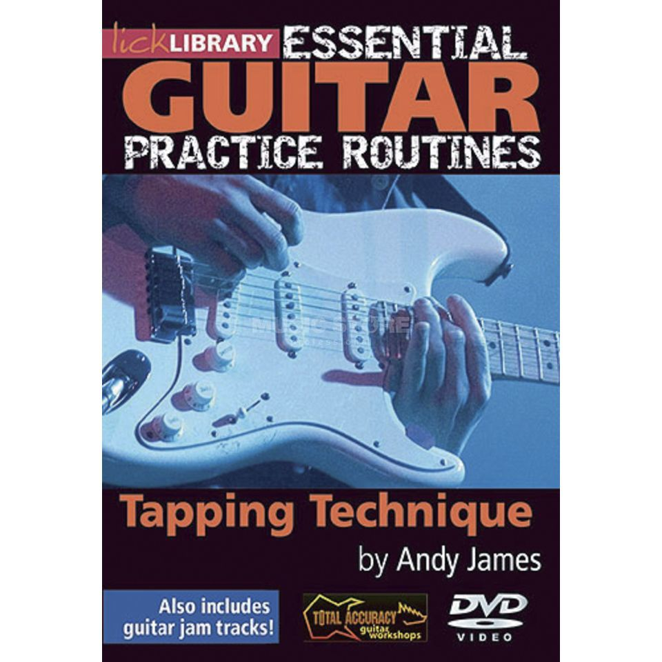 Roadrock International Lick Library: Essential Practice Routines - Tapping Technique DVD Produktbild
