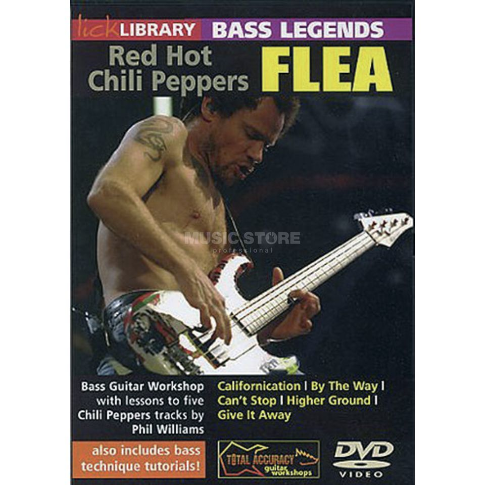 Roadrock International Lick library - Flea Bass Legends, DVD Produktbillede