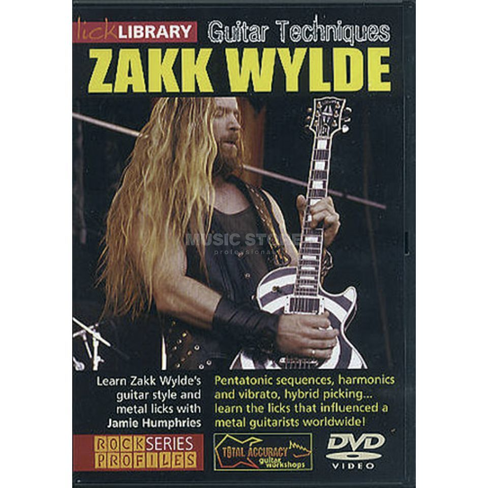 Roadrock International Lick Library: Guitar Techniques - Zakk Wylde DVD Produktbild