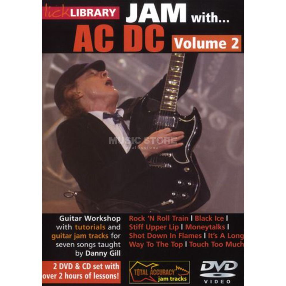 Roadrock International Lick Library: Jam With AC/DC 2 DVD, CD Produktbild
