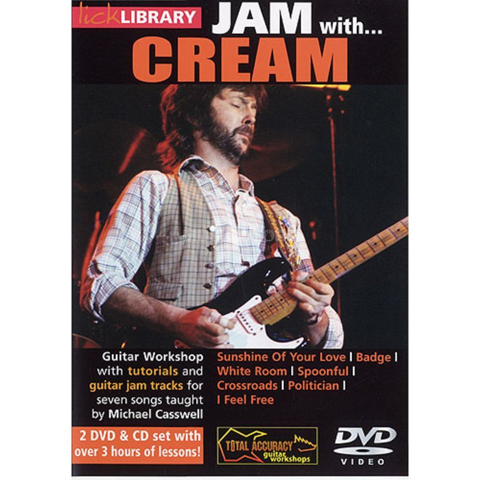 Roadrock International Lick Library: Jam With Cream DVD, CD Produktbild