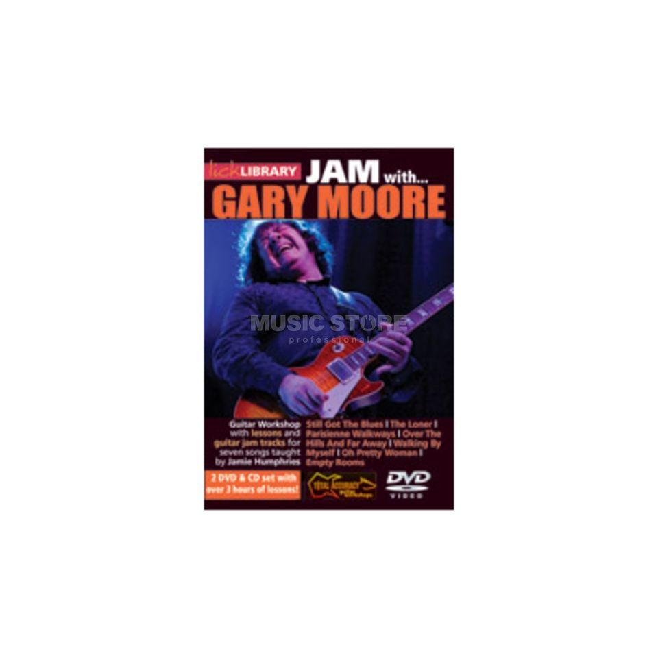 Roadrock International Lick Library: Jam With Gary Moore DVD, CD Produktbild